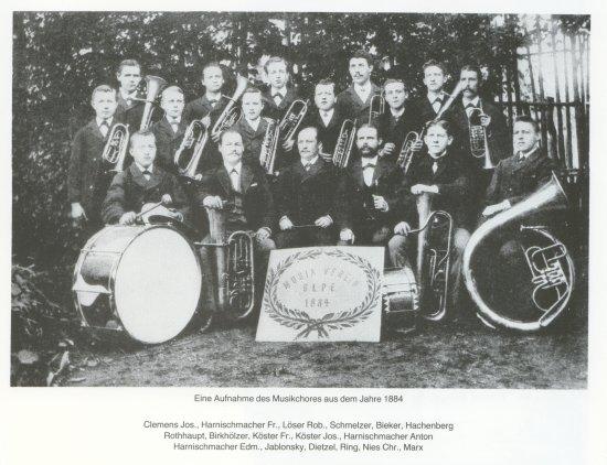 Musikzug 1884