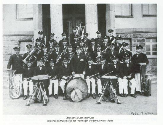 Musikzug 1912