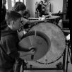 Das Schlagzeugregister der Jungen Harmonie